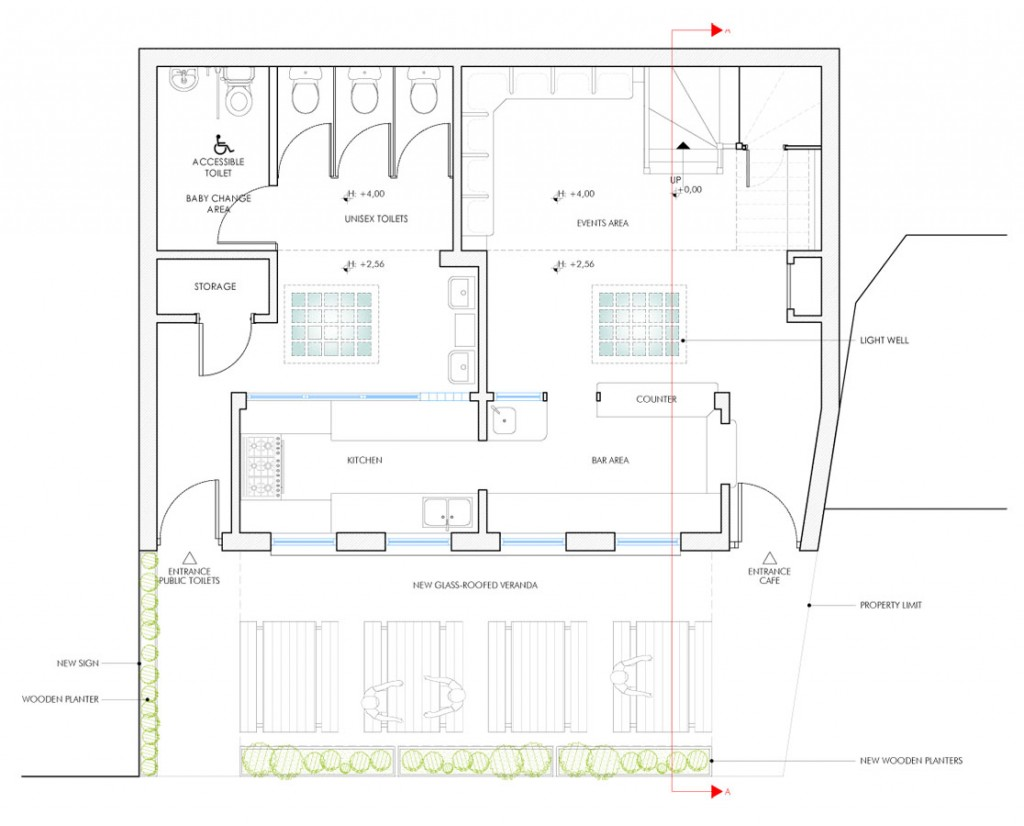 public toilet design plan. The Convenience  Brooksby s Walk Toilets in Lower Clapton Hackney Yellow CloudArchitecture