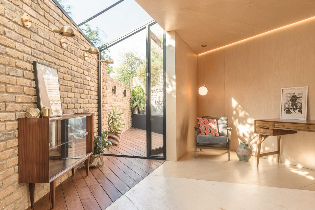 The Triangle Backyard Study Extension In Hackney